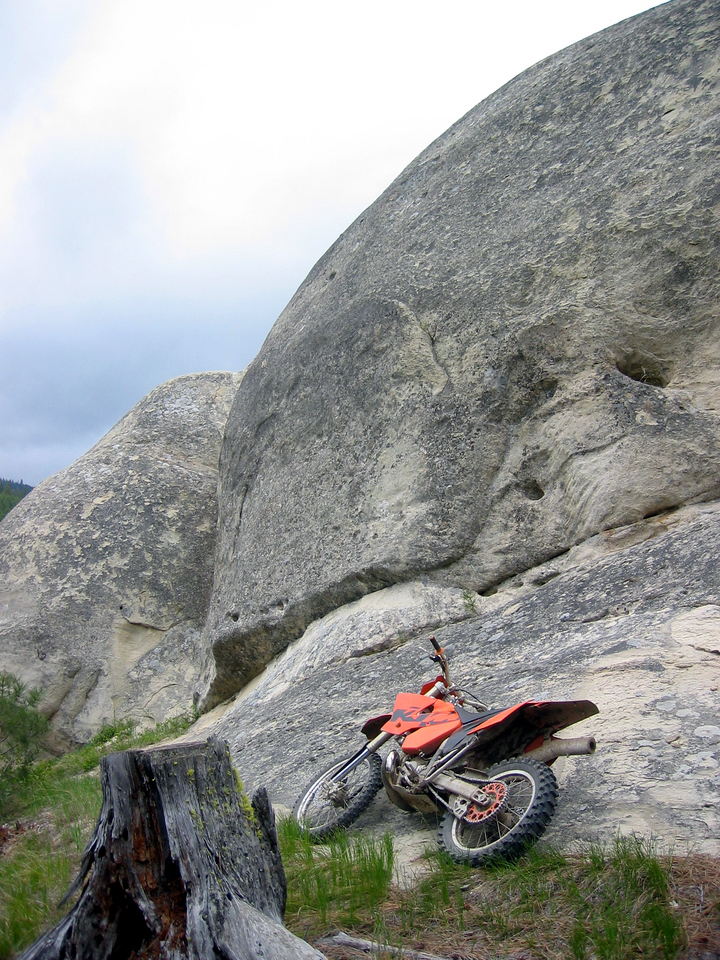 killer rock formation we found after leaving devil's gulch