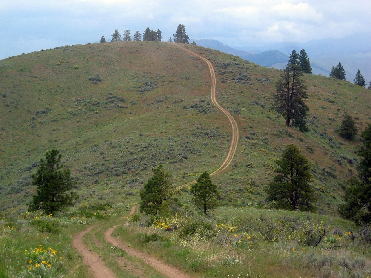 awesome double-track on Butler's Ridge